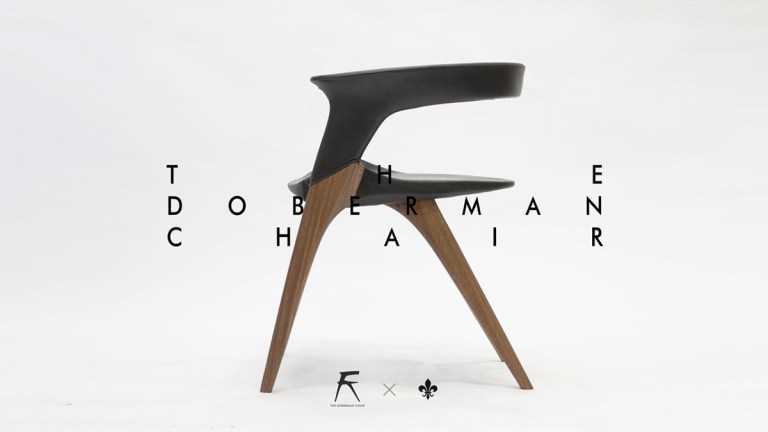 the doberman chair