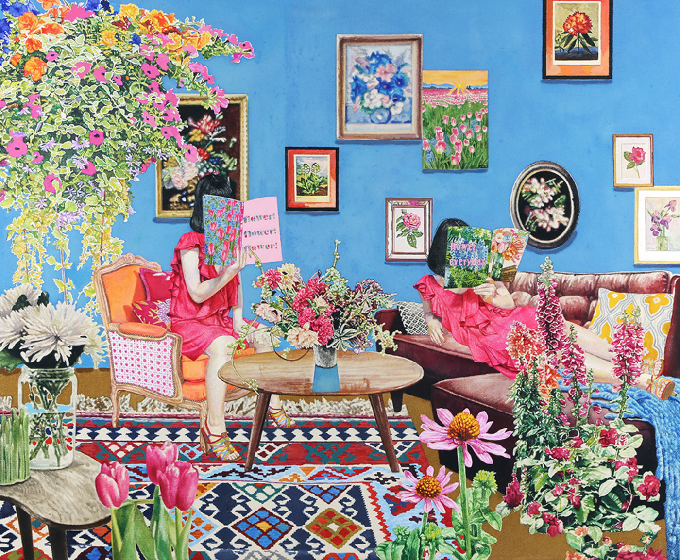Naomi Okubo Girls Wanna Be Like A Flower Beautiful Things Art Blog