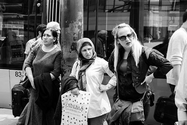 women Deep Street Memories Istanbul Mohamad Badr