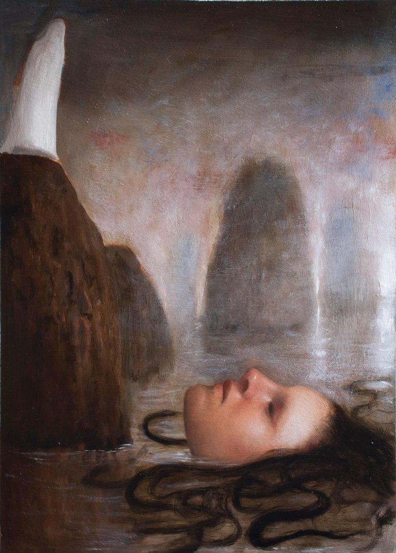 AlessandroSicioldrBianchi Oil Study for Grande Sirena