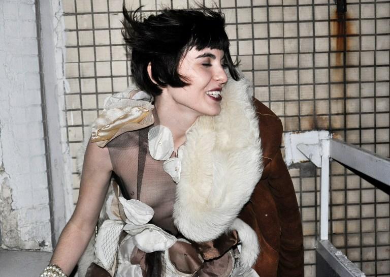 Dress by Russian artist and costume designer Vlada Manyatovskaya