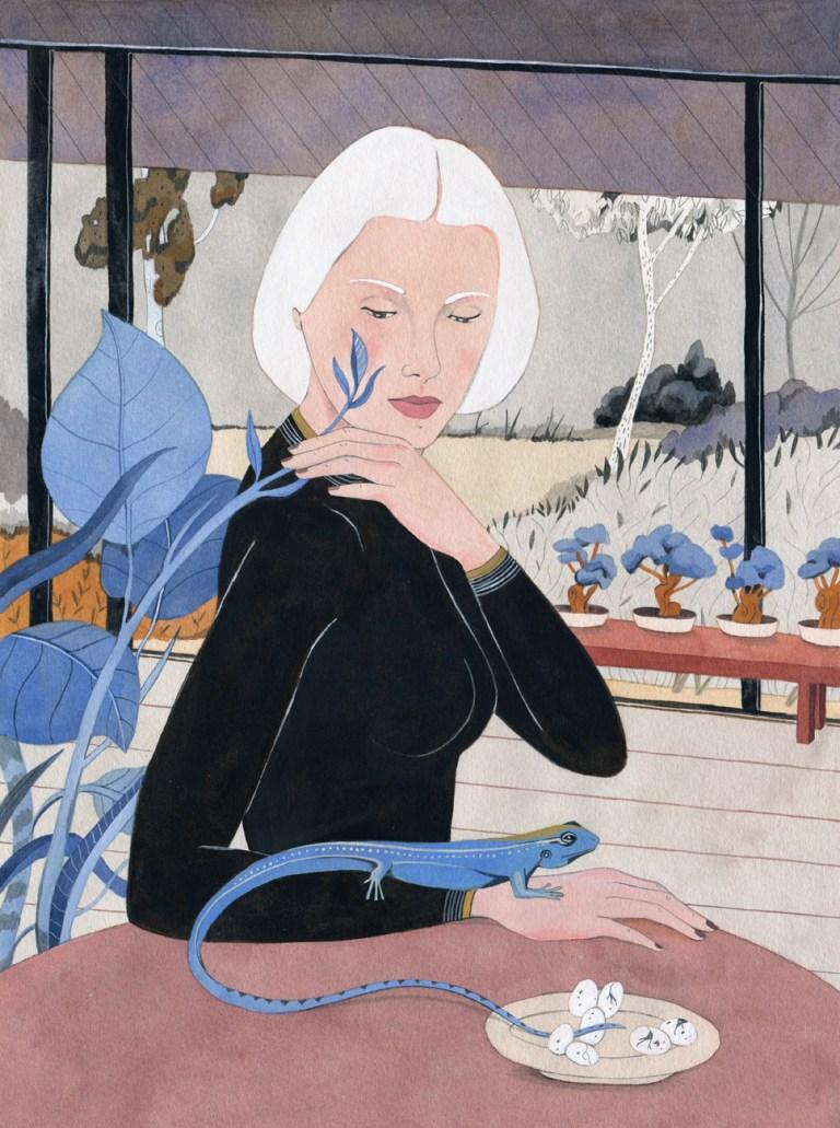 Allegorical-Art, Feminist-Art, Chilean-Artist, Illustration, Muralist, Women-Artists, Contemporary-Art