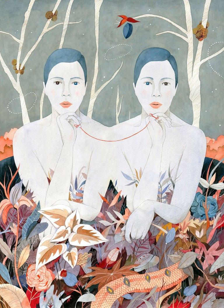 Hybrids, Allegorical-Art, Feminist-Art, Chilean-Artist, Illustration, Muralist, Women-Artists, Contemporary-Art