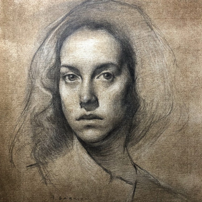 Contemporary-Art, Painters, Painting, Drawing, Creative, New-Art, Art, Artist, Oil-Painting, Realism, Figural-Art, Academic-Art, Florence, Portraits, Oil-Painting, Isabel-Garmon