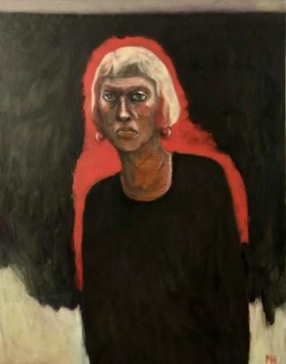 Portrait, Self-Portrait, Art, Expressionist, Haunting
