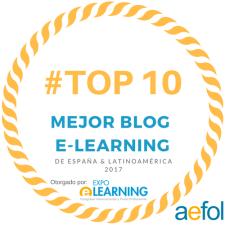 Top 10 Mejores blogs de eLearning 2017. Rosalie Ledda