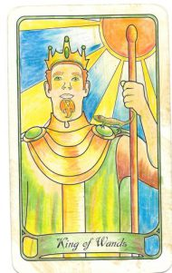 King of Wands: Natural born leader