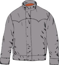collecting winter coats