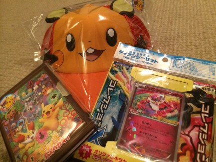 Pokemon XY the movie - goods