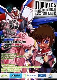 2007 : Festival de SF Utopiales – Manga-tan 1 (La Cité Nantes Events Center)