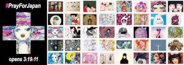 2011 - Exposition caritative (JapanLA, Los Angeles, ÉTATS-UNIS)