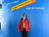 En la cima de Europa, en Suiza