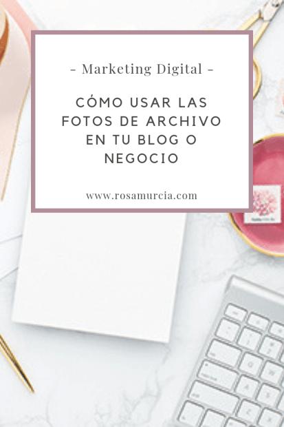 imágenes de stock para blogs y negocios