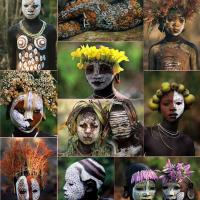 Las Tribus del Omo: Arte en el cuerpo desde tiempos ancestrales