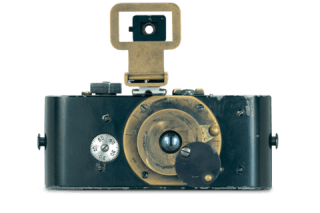 1914 - Oskar Barnack inventou há 100 anos a primeira câmera de 35mm, o Ur-Leica.
