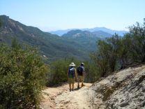 along the Backbone Trail