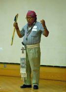 "Indigenous blessing by ""Tata Appolinario Chile Pixtun"", a Guatemalan Mayan Elder"