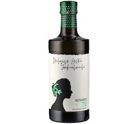 Rosario økologisk ekstra jomfruolivenolie af olivensort Manzanilla Cacereña. 500 ml mørk glas flaske