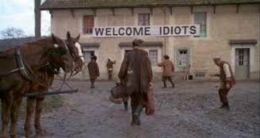 Welcome idiots
