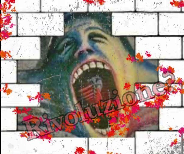 Un muro che crolla