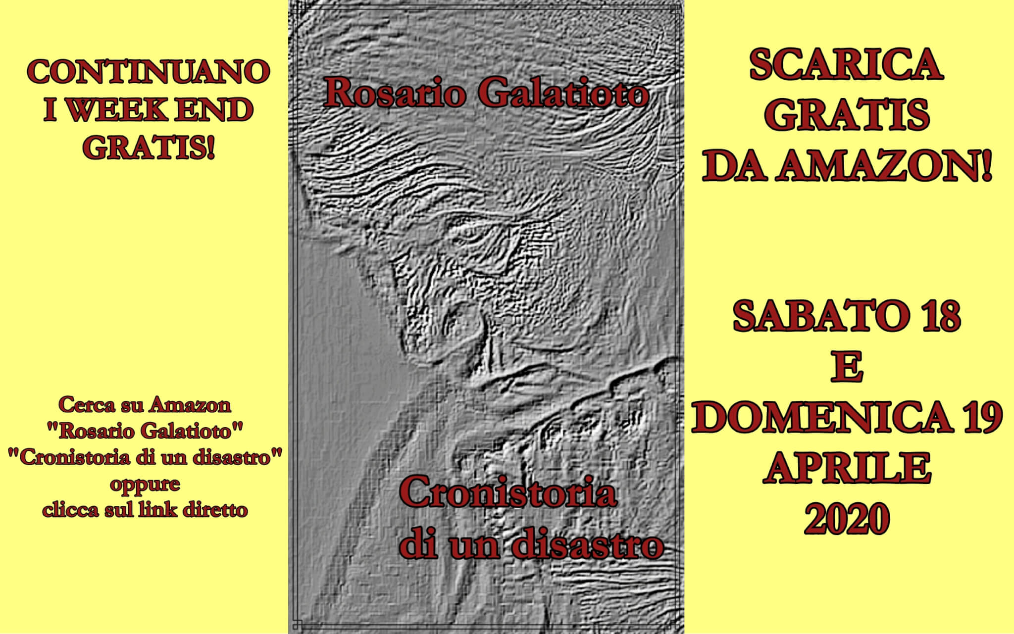 "Continuano i week end ""libro gratis"""