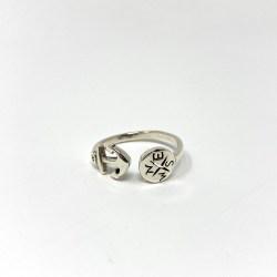 Ancora anello Rosa Rosa Bijoux