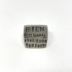 anello francese Rosa Rosa Bijoux