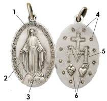 Image result for Miraculous Medal