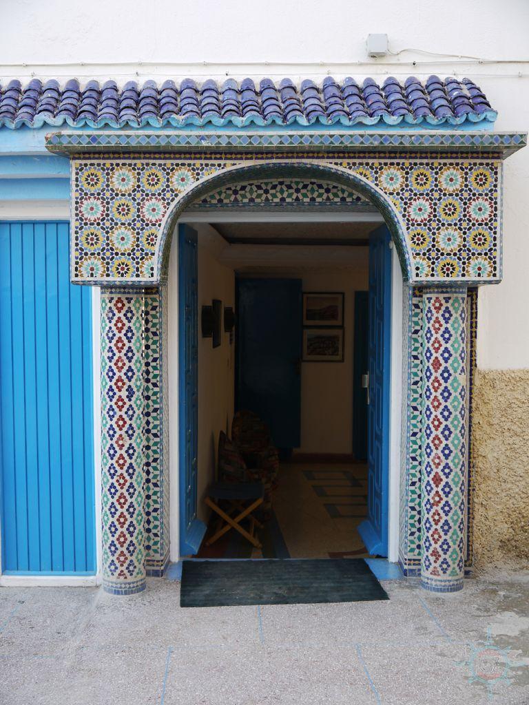 Rosas Reisen Reiseblog Marokko Taghazout Dorf Tuer Tueren