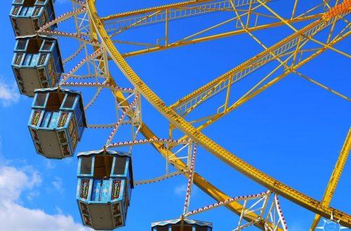Hamburg Hamburger Dom Kirmes Riesenrad