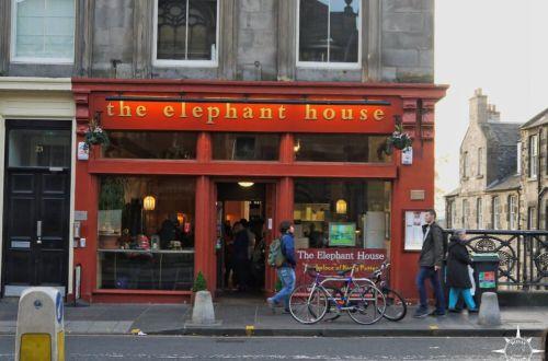 Schottland Edinburgh Harry Potter Elephant House