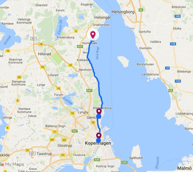 Radtour Kopenhagen