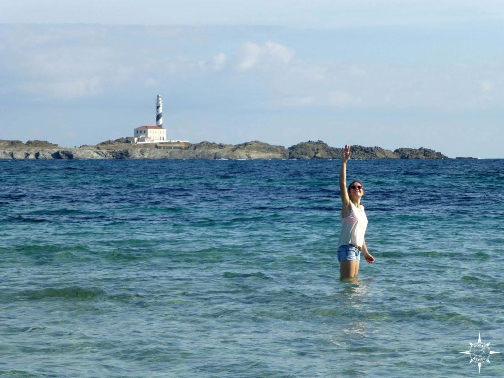 Bucht am Cap Favaritx