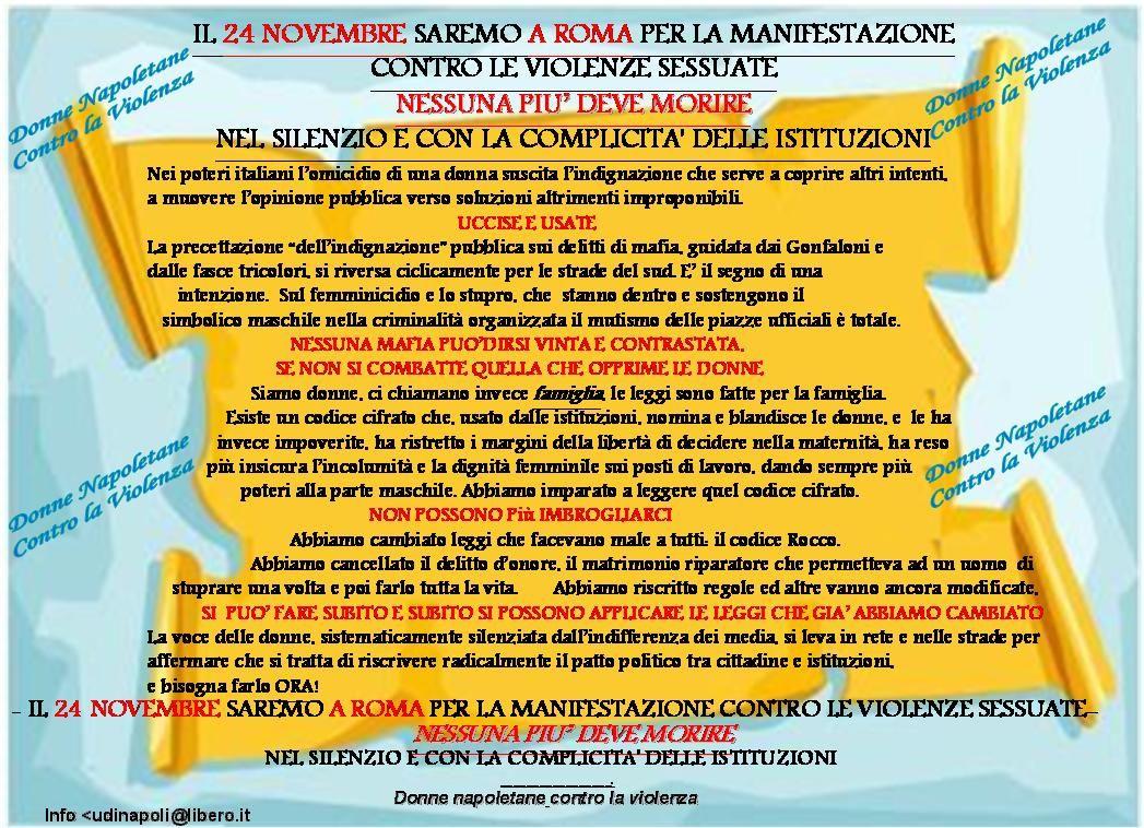 UDI-GruppoNapoli … verso il24