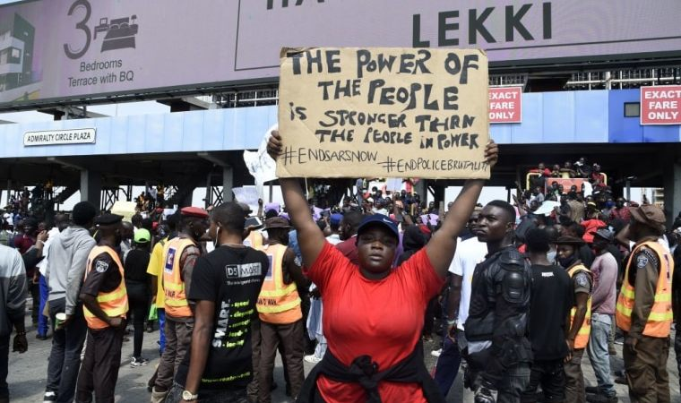 Different Type of EndSars Protesters