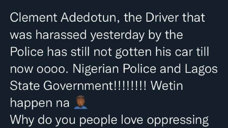 Why do you people love oppressing us so much? Comedian Mr Macaroni asks authorities as he reveals that the taxi driver who was pepper-sprayed by security operatives is yet to find his car