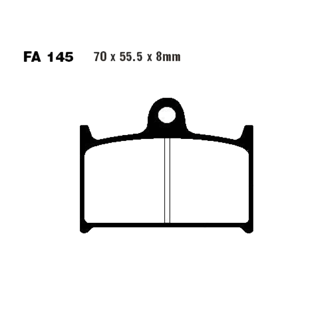 Pastiglie Freno Triumph Daytona 955 i Doppio braccio