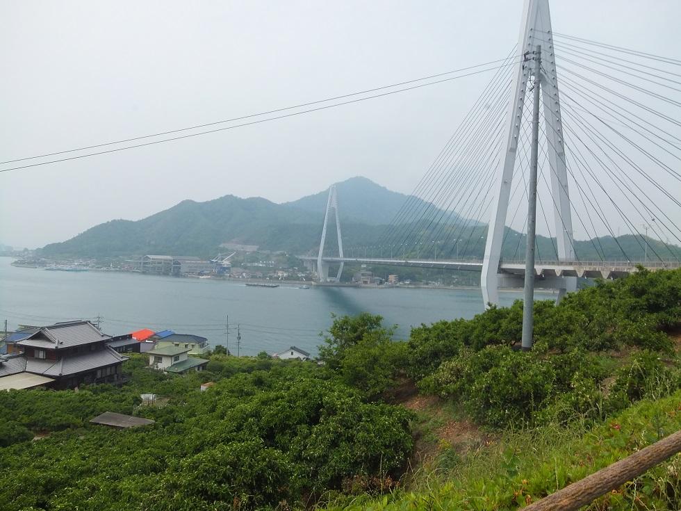 しまなみ海道に架かるたたら海峡大橋を撮影した。
