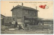 Carte postale gare du Blanc-Mesnil