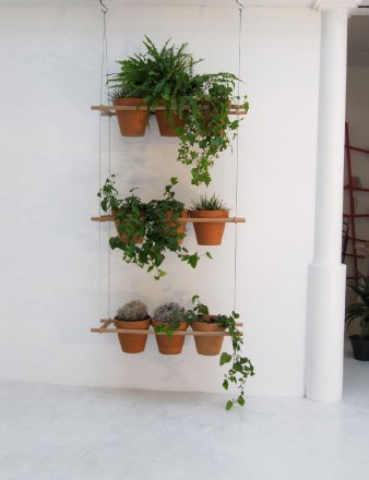 Porte plantes suspension