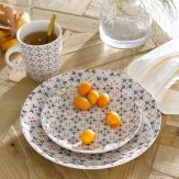 Assiette plate carreaux de ciment, 24,99€, lot de 4