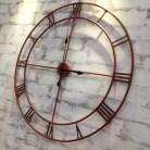Une horloge XL cuivrée