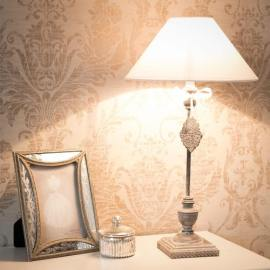Une lampe shabby chic