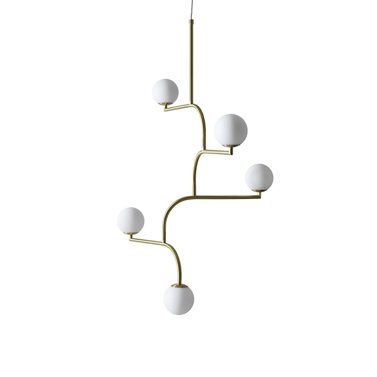 suspension-mobil-dore-pholc-5-boules