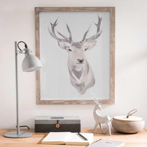 tableau cerf maison du monde fotorahmen copper with tableau cerf maison du monde trendy. Black Bedroom Furniture Sets. Home Design Ideas