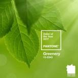 Greenery, Pantone