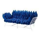Canapé 2 places, 36 coussins, 398€
