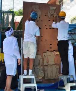 Demonstration 1: Dismantling & assembling the blocks