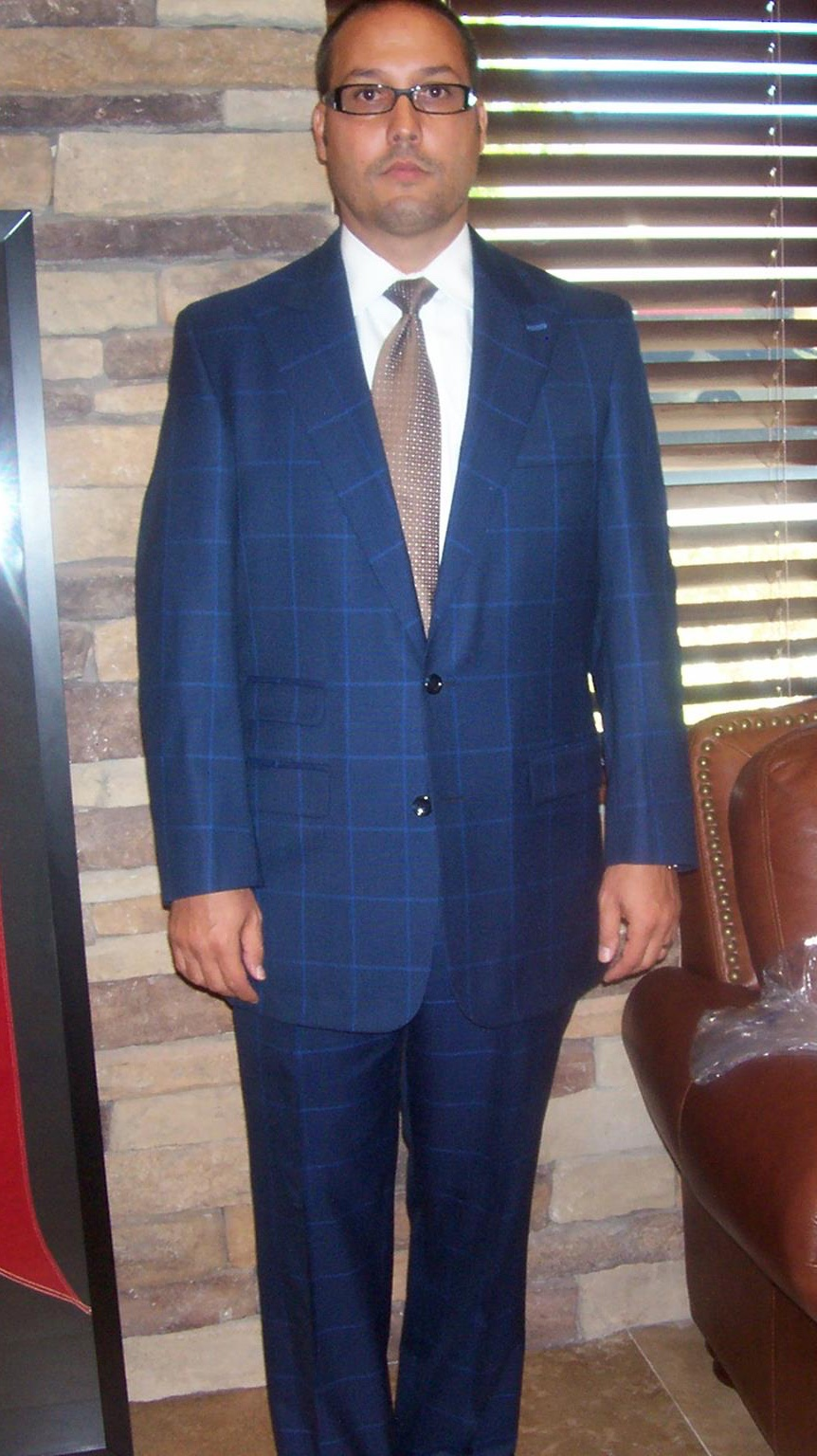 Custom Mens Suits Rosenthal of Palm Springs