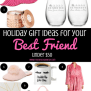Holiday Gift Ideas For Your Best Friend Under 50